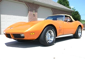 1973 Chevy Corvette Convertible