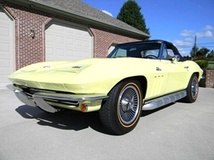 1966 Chevy Corvette Stingray convertible