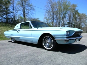 1966 Ford Thunderbird Two Door town hard top