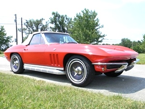 1965 Chevy Corvette Stingray Convertible with Matching Number engine