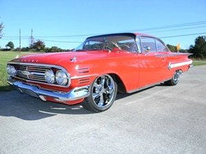 1960 Chevy Impala 2 Dr Hardtop Sport Coupe