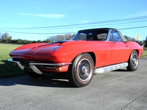 1967 Chevy Corvette Convertible Matching #