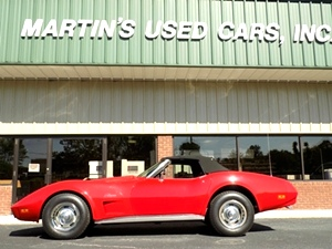 1974 Chevy Corvette Stingray Convertible