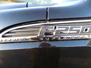 2015 Ford F-250 Platinum Crew Cab 4x4