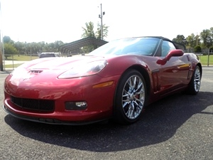 2012 Chevy Corvette Convertible Grand Sport
